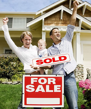Happy Family Who Sold Their House