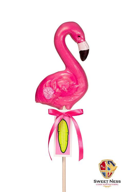Карамель леденцовая в форме Фламинго, 95 гр.