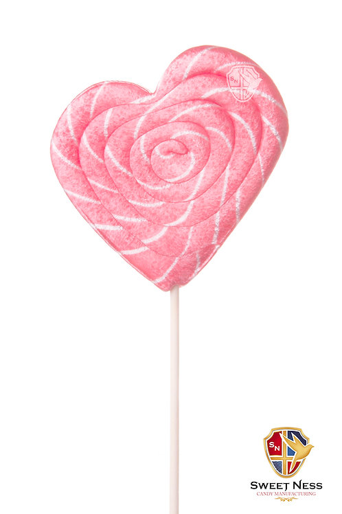 Карамель леденцовая в форме Сердца, 55 гр.
