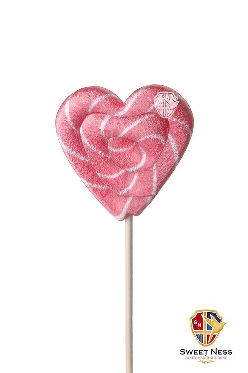 Карамель леденцовая в форме Сердца, 30 гр.