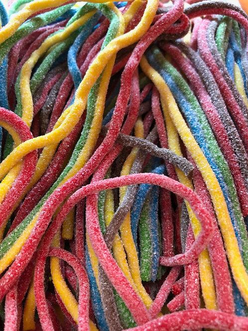 Спагетти разноцветные кислые