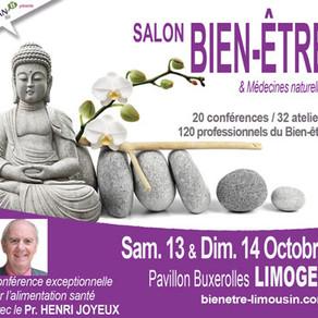 Salon de bien-être Limoges 2018