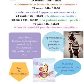Ateliers relaxation enfants - parents Limoges