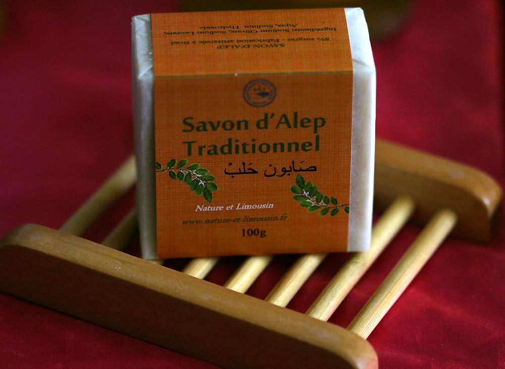Savon artisanal fabriqué en Limousin