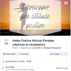 """Atelier déjeuner """" Positive Attitude """""""