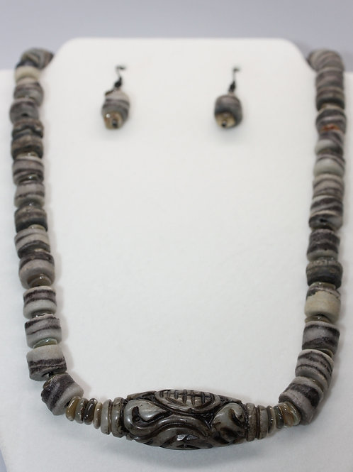 African Sand Cast Necklace