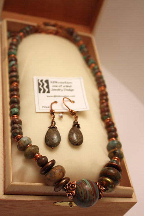 Desert Copper Adjustable Necklace