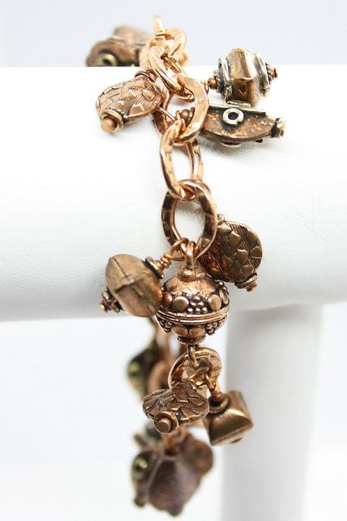 Copper 'Charming' Bracelet