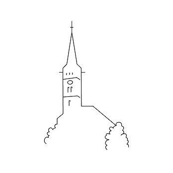 Skyline St. Laurentius-Stadtkirche Köpenick