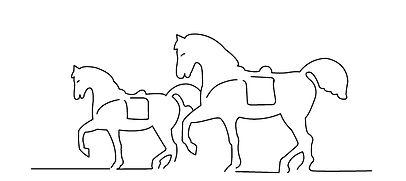Skyline Wilde Pferde Köpenick