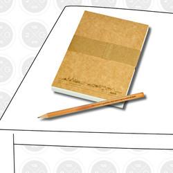 2G3g Köpenick Notizblock & Bleistift