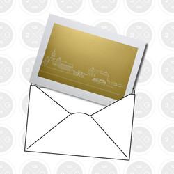 2G3g Köpenick Goldpostkarte