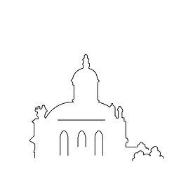 Skyline Schlosskirche Köpenick