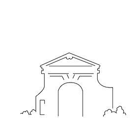 Skyline Portal zur Schlossinsel Köpenick