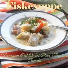 Norwegian Fiskesuppe | Cod & Root Vegetable Chowder