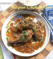 Filipino Chicken Adobo | Chicken with Pepper & Garlic