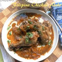 Filipino Chicken Adobo | Chicken with Pepper & Garlic