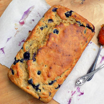 Buttermilk, Banana & Blueberry Loaf