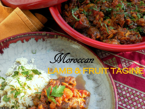 Moroccan Spicy Lamb & Fruit Tagine