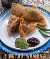 Traditional Punjabi Samosa from India