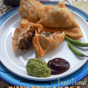 Traditional Punjabi Samosa from India