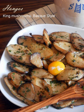 Hongos | King Mushrooms, Basque Style
