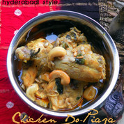 Murgh Do-Piaza | Chicken Stewed with Onions from Hyderabad, India