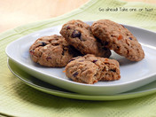 Deliciously Chewy | Oatmeal, Coconut & Dried Fruit Cookies