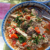 Delicious Italian Wedding Soup with Chicken & Meatballs