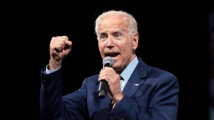 Biden won an election through deception
