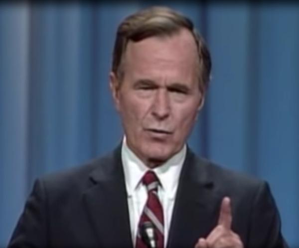 Belated Media Chorus: 'Hooray for Bush!'