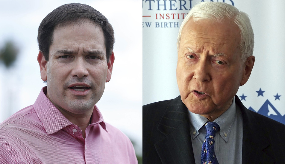 "Anthony Leonardi on the Washington Examiner: ""Marco Rubio, Orrin Hatch go local to help father"