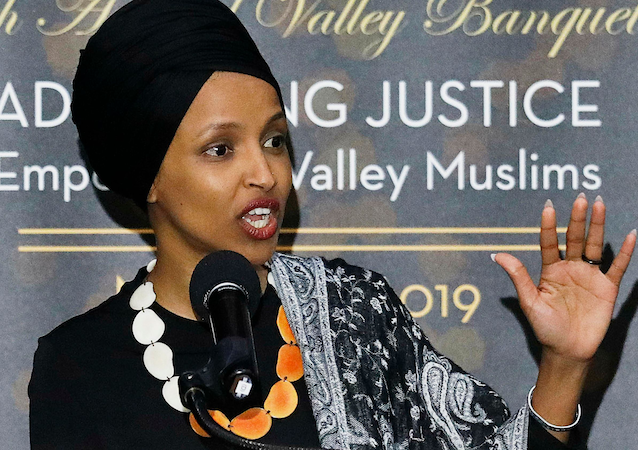 What If Ilhan Omar's Defense of ISIS Conspirators Was Applied to Neo-Nazis?
