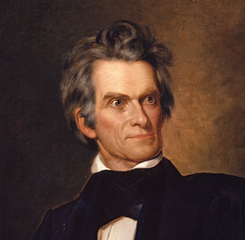 John C. Calhoun Joins Social Media to Defend Abortion