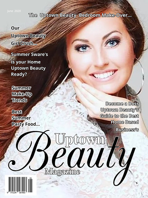 Uptown Beauty Magazine Cover Girl Photo Contest
