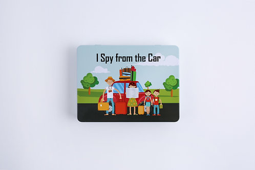Magnetic Game, I Spy Car, Car games, children's entertainment, learning, educational, fun, travel, family, holiday, school,