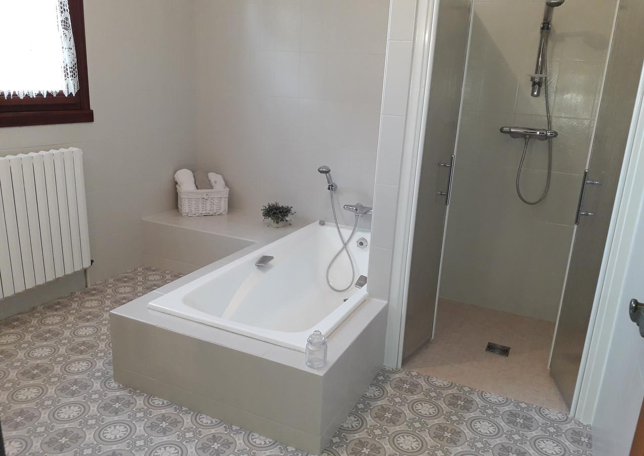 Salle de bain après home staging