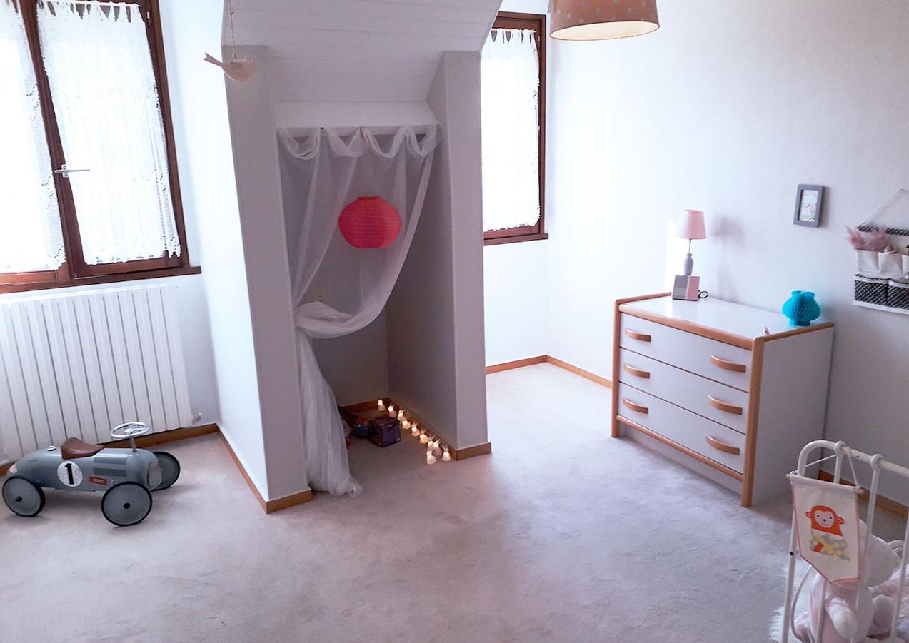 chambre enfant après home staging