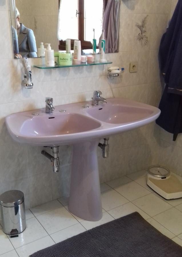 double vasque avant home staging