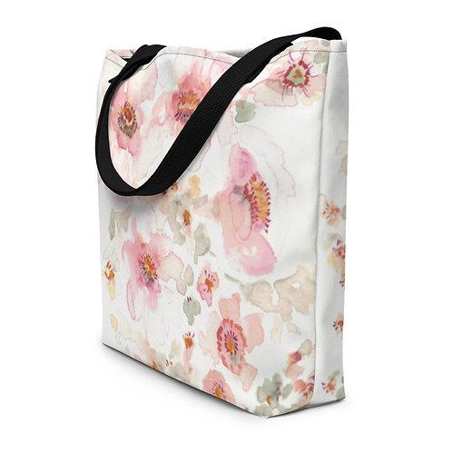 Soft floral bag