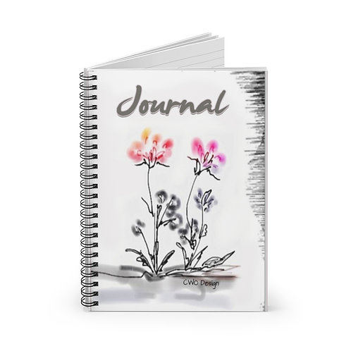 Spiral Notebook - Ruled Line by CWO Design