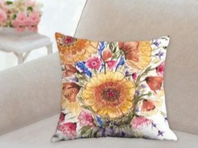 """Sunflower Pillow18x18"""""""