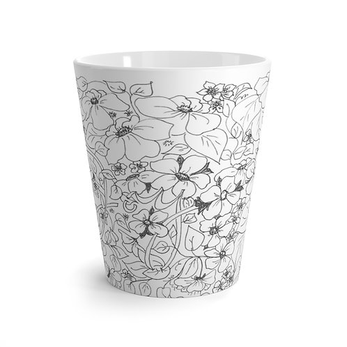 Color your own Latte Mug