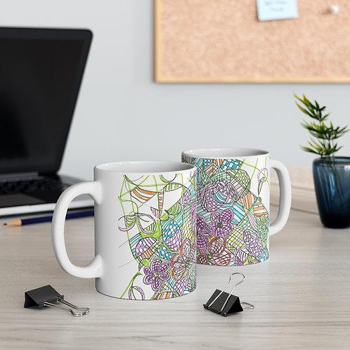 Freestyle drawing Mug 11oz