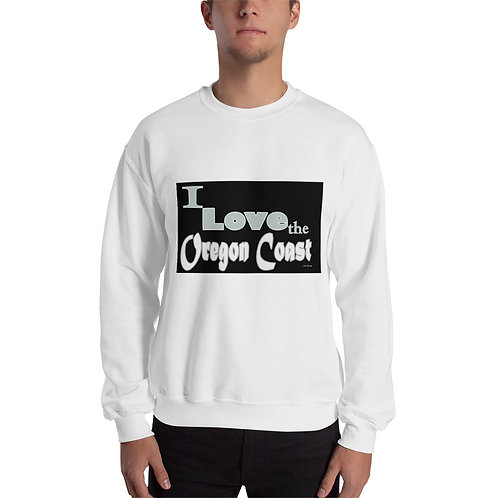 I love the Oregon Coast, Unisex Sweatshirt