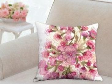 "Pink Pillow  18x18"""
