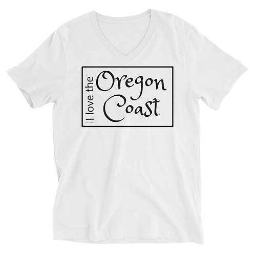 I love the Oregon Coast Unisex Short Sleeve V-Neck T-Shirt