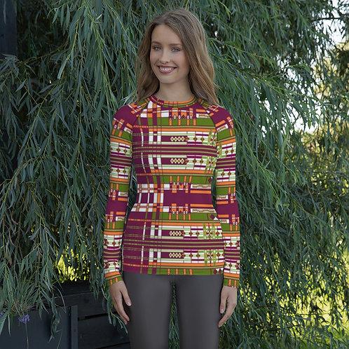 Original Fabric Design, Women's Rash Guard