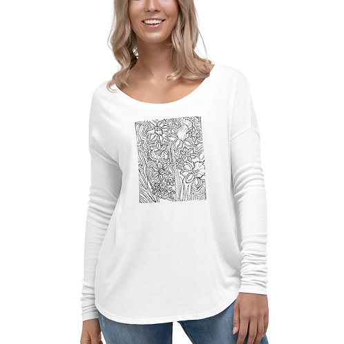 Wearable Art, Ladies' Long Sleeve Tee