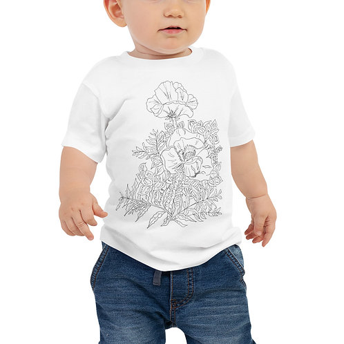 Color in your own, Baby Jersey Short Sleeve Tee